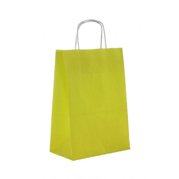 Sac papier, sac kraft vert anis - Oletal, sac papier personnalisé