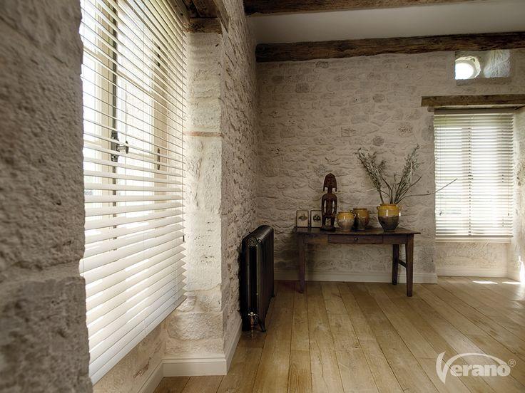 Jaloezieën van #hout maken de #landelijke beleving binnenshuis compleet!