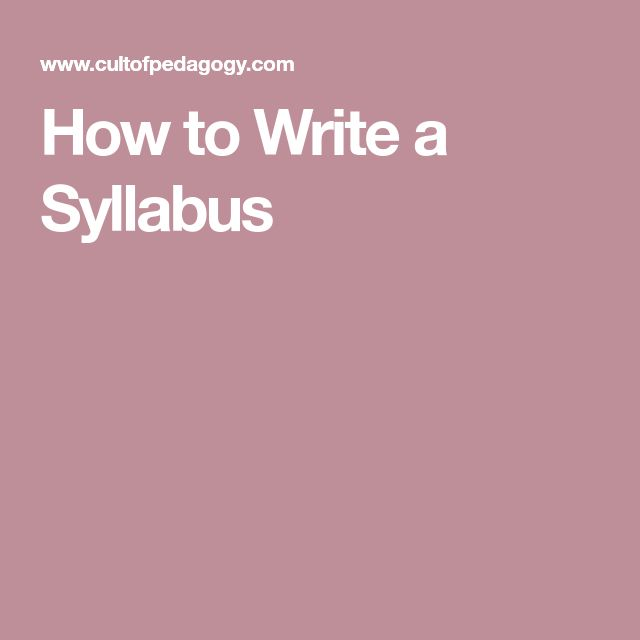Best 25+ Syllabus template ideas on Pinterest High school - syllabus template
