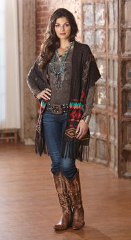 Pueblo Artisan Wrap Item # 11215 $150 http://www.crowsnesttrading.com/product/15914/fashion