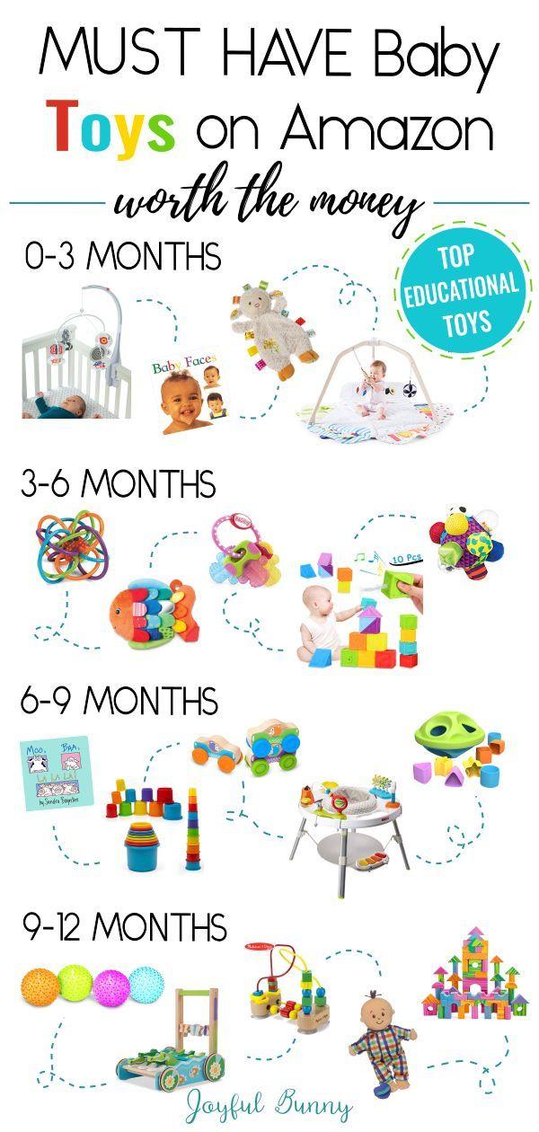 20 Must-Have-Babyspielzeug bei Amazon das Geld wert
