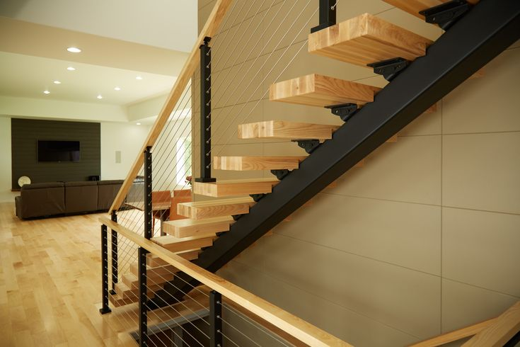 Best Straight Staircases Metal Stairs Modern Staircase 400 x 300