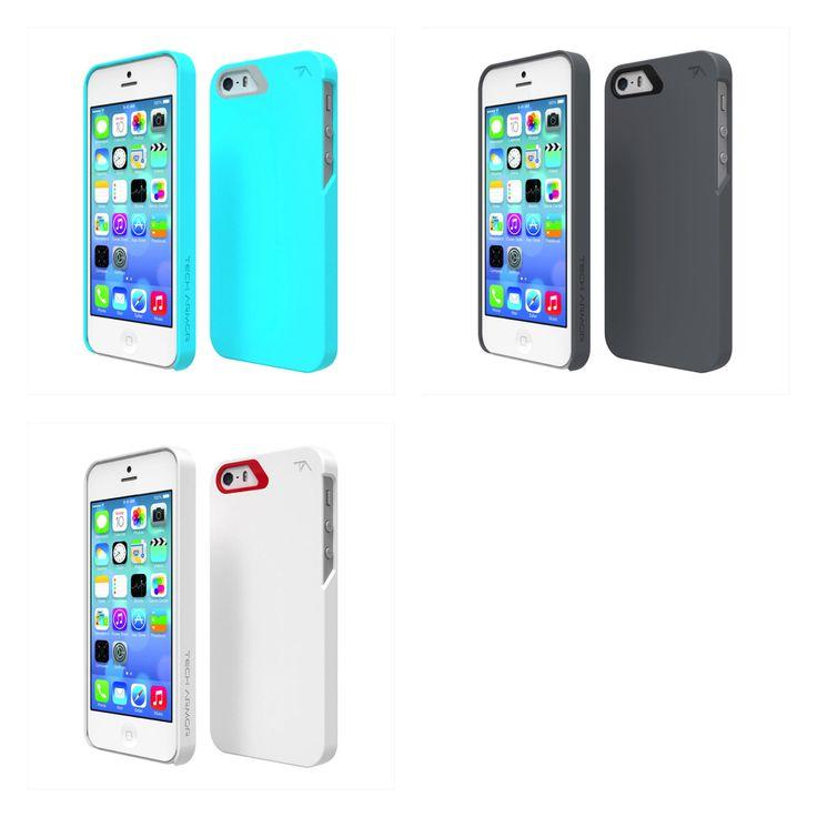 깔끔한 아이폰5/5s 슬림 케이스, Tech Armor SlimProtect Soft Touch Matte Finish Polycarbonate Case