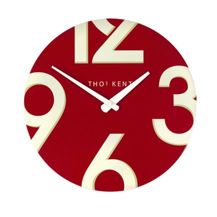 20 best Red kitchen wall clocks images on Pinterest Kitchen wall