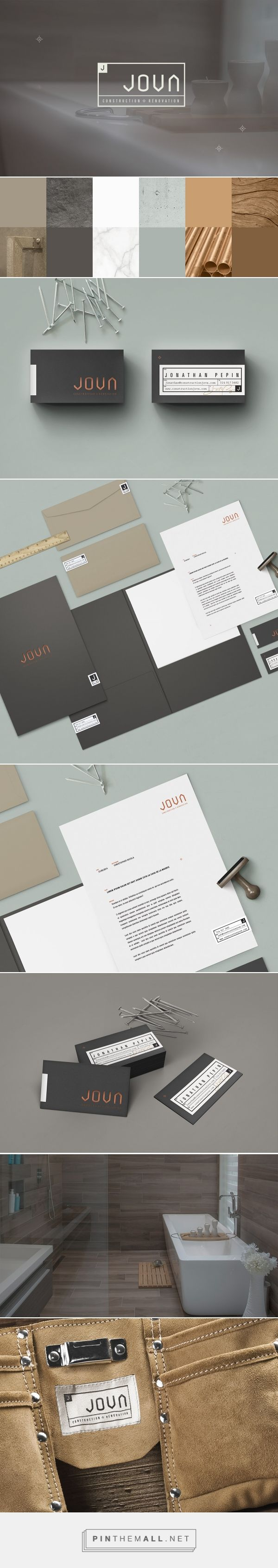 Jova Construction Branding by Phoenix the Creative Studio | Fivestar Branding Agency – Design and Branding Agency & Curated Inspiration Gallery