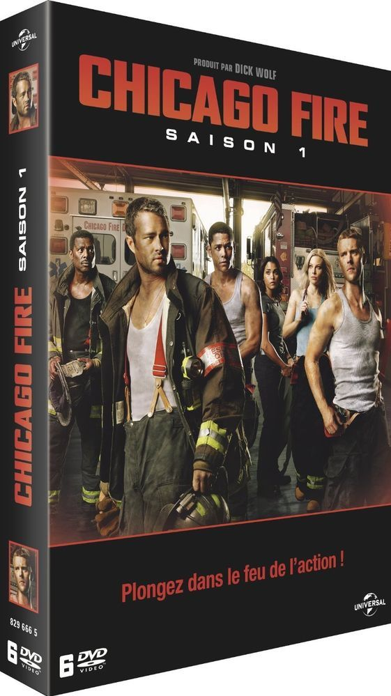 Chicago Fire - Saison 1 INTEGRALE  | DVD - NEUF