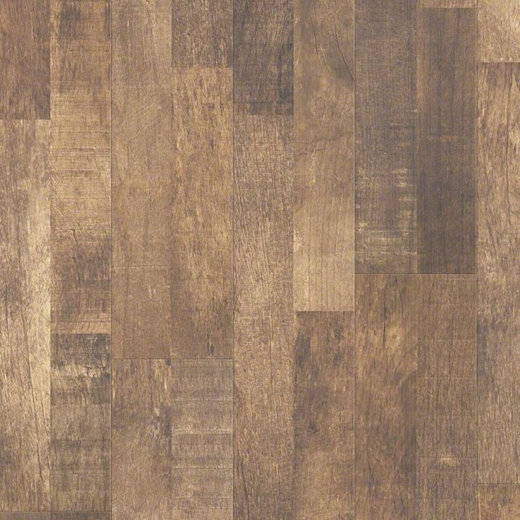 Reclaimed laminate look in a rustic brown color name for Floors on floors