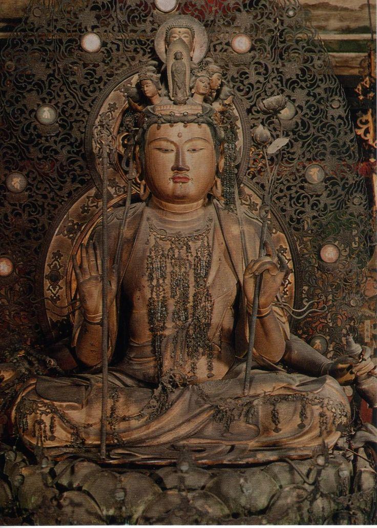 京都 五位山法金剛院 十一面観音菩薩坐像
