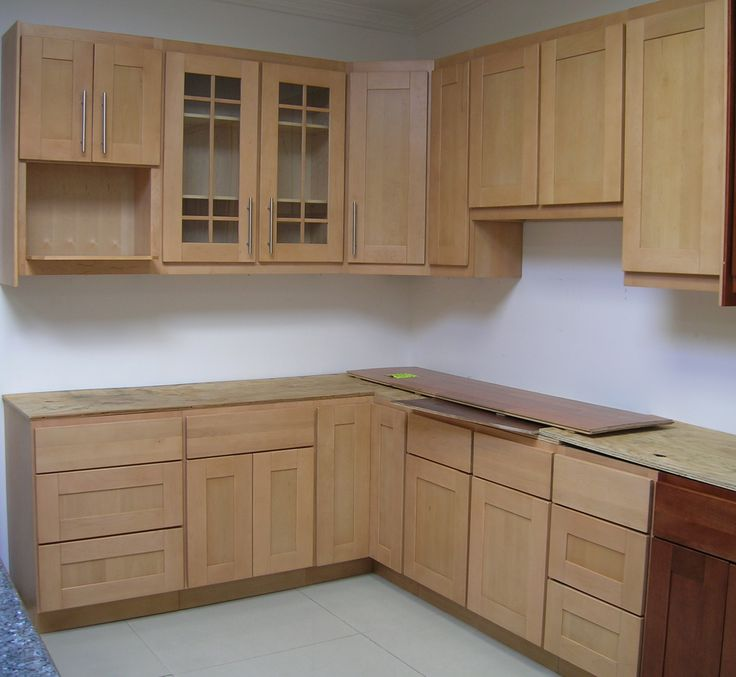 cabinets to store things