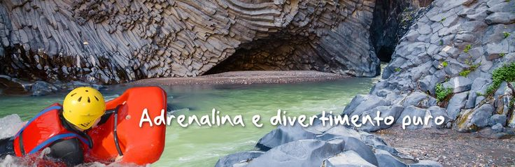 Hydrospeed Gole dell'Alcantara #adventure #travel #extreme. prenota ora: http://www.sicily-adventure.it/hydrospeed-gole-alcantara.html