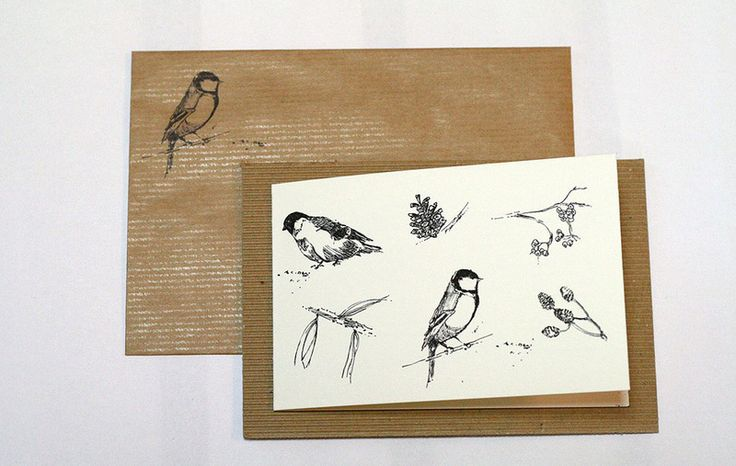 kartki świąteczne - 4 różne wzory - StudioMiniForma - Kartki świąteczne