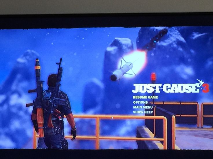 What a pause #JustCause3