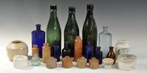 Glass Potion Bottles and Potion Bottles by Medieval Collectibles