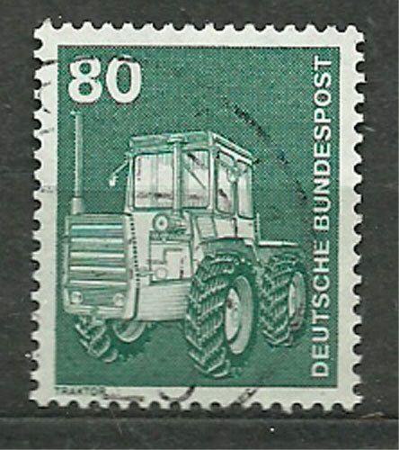 Germany, RFN, 1975, Mi 853, Tractor, U