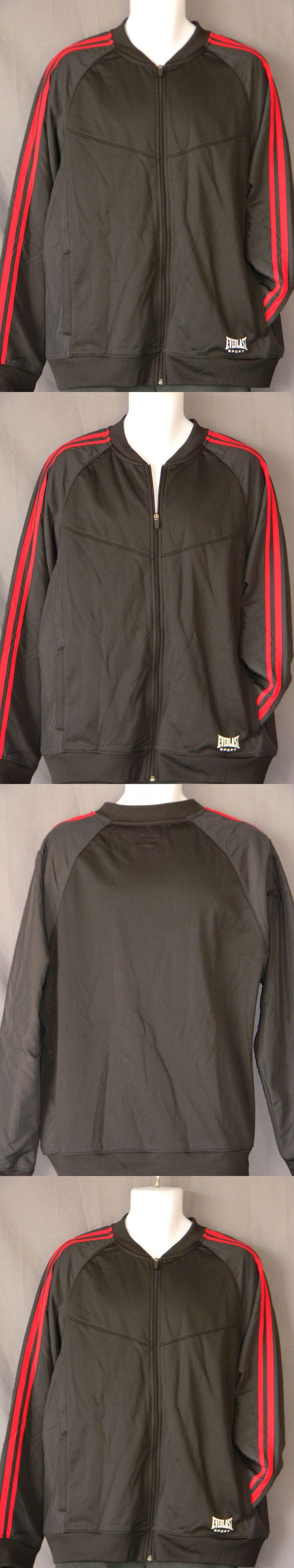 Jackets 179771: Everlast Full Zip Jacket Mens Gym Training New Black Coat Workout Mma Boxing -> BUY IT NOW ONLY: $44.99 on eBay!