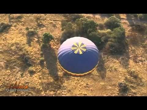 Hot air balloon safari's.  #FunHolidays #hotairbaloon #safaris #travel