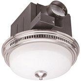 Found it at Wayfair - 110 CFM Bathroom Fan with Light