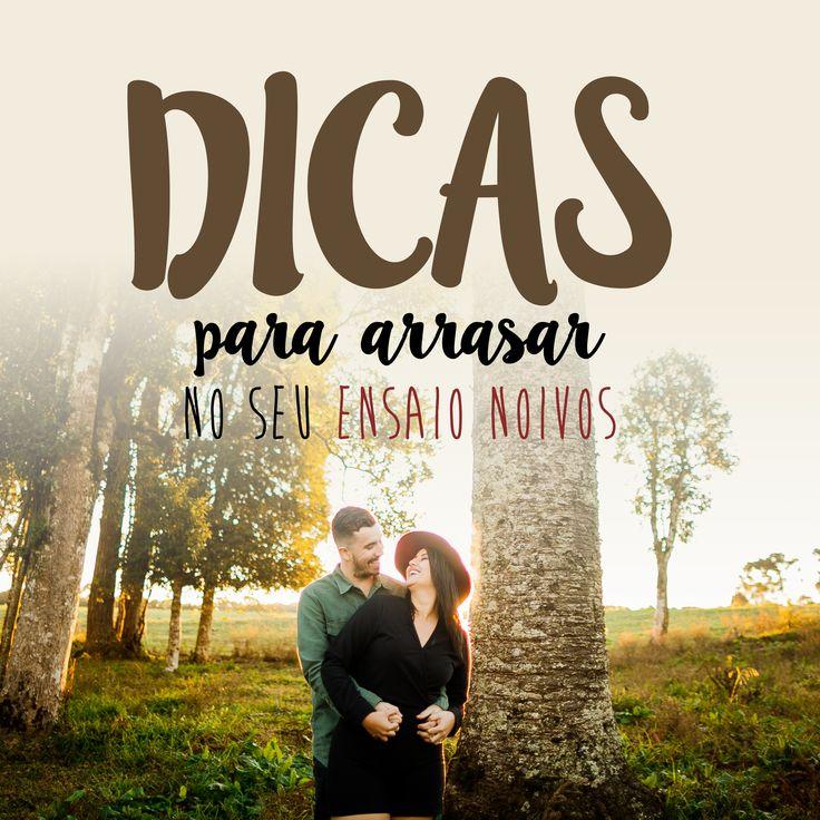 8 Dicas para você arrasar no seu Ensaio Noivos! Confira www.blog.kalinagfotos.com
