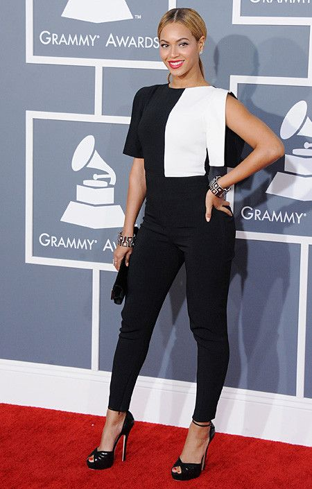 Beyonce Knowles wearing KALPA to the 2013 Grammy Awards