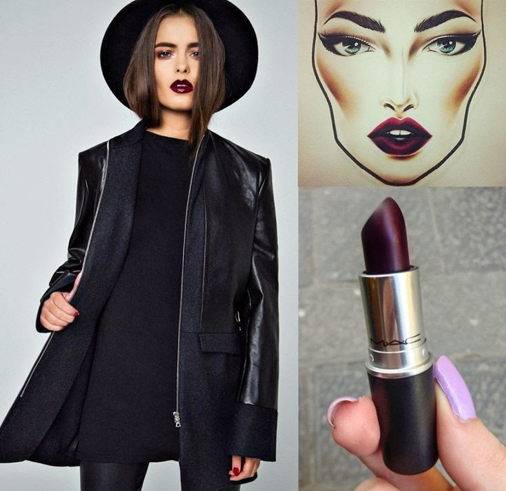 plum-lips-makeup-mac-lipstick