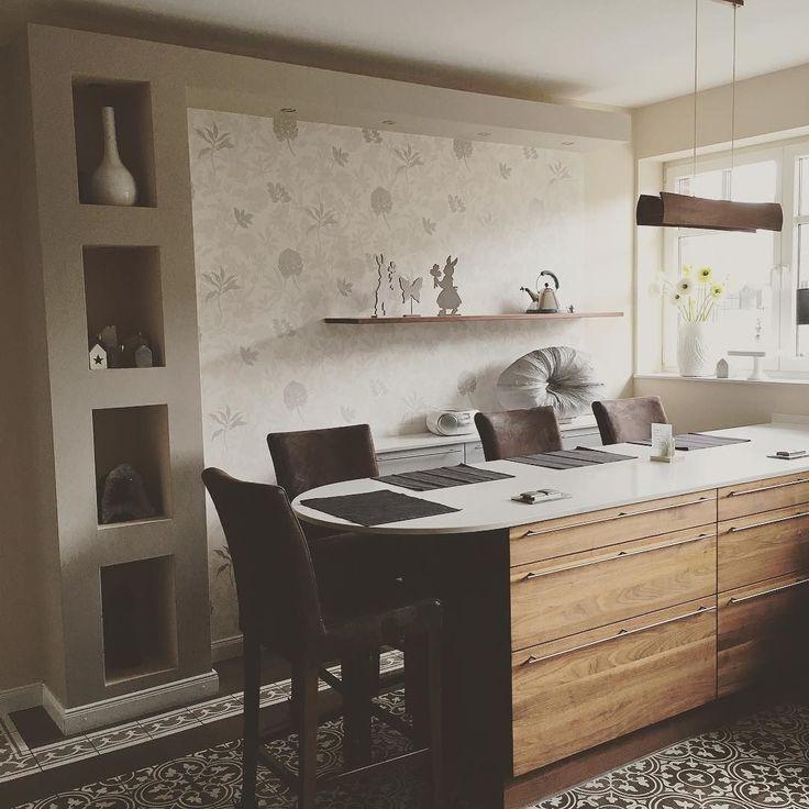 25+ parasta ideaa Pinterestissä Küche nussbaum Küche höffner - arbeitsplatten küche 70 cm tief