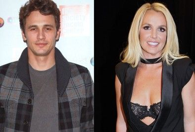Britney Spears Wants James Franco For Fifty Shades Of Grey Movie