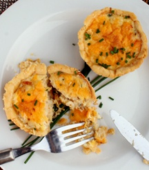 Take a stab at these Cheesy Snoek Tarts - yum!