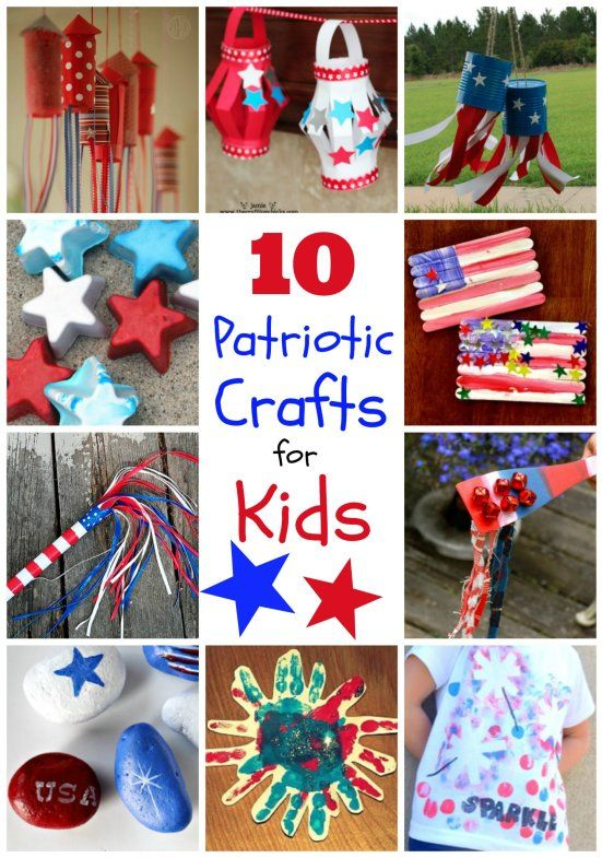 31 best nifty ideas for kids images on pinterest july for Americana crafts to make