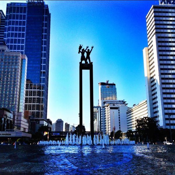 Jackson Hartono at Bunderan HI  'Jakarta City Center'  (Jakarta, Indonesia)