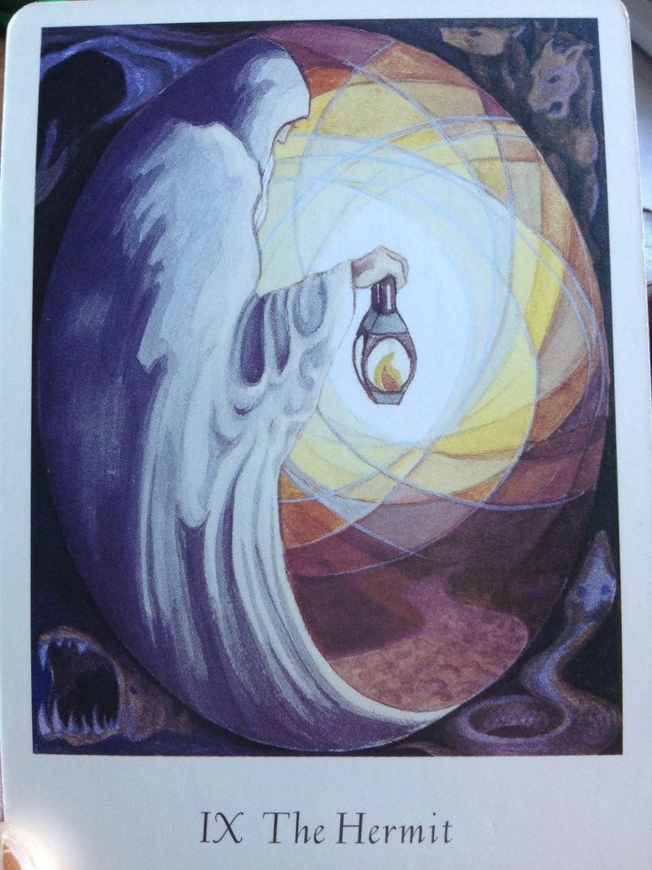 The Hermit Tarot Thoth
