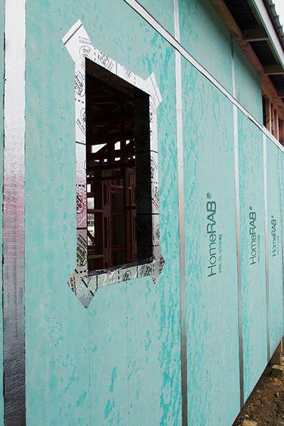 HomeRAB® Pre-Cladding | James Hardie #jameshardie #buildtough #precladding #homerab