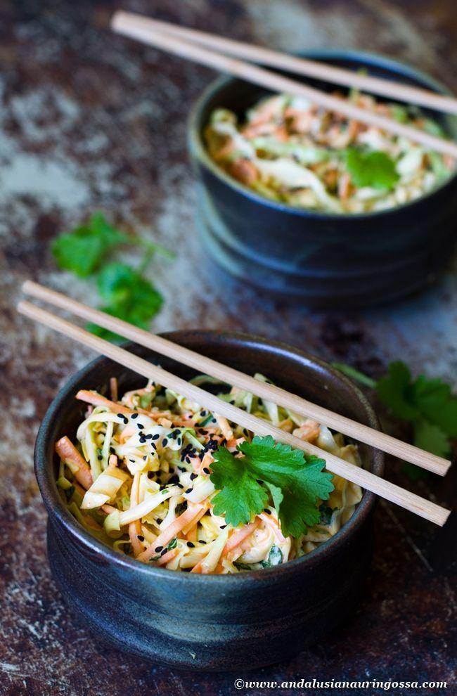 Andalusian auringossa-ruokablogi: Korealainen coleslaw