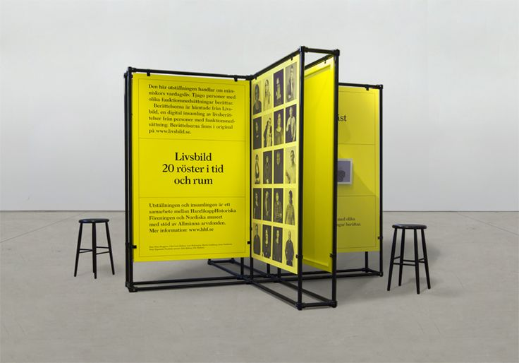 Exhibition Livsbild. Produced by Diana Chafik at Nordiska Museet.source: Reaserch and Development
