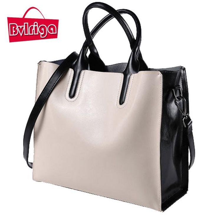 BVLRIGA 100% genuine leather bag designer handbags high quality Dollar prices shoulder bag women messenger bags famous brands >>> Click image for more details.
