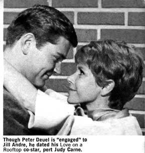 Love On A Rooftop - Pete Duel & Judy Carne - Sitcoms Online Photo Galleries