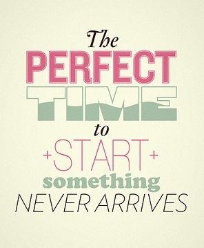 So, start now!