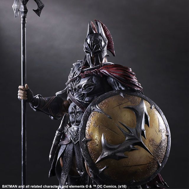 What Would It Look Like If Square Enix Redesigned Batman as a Spartan Warrior...? | moviepilot.com