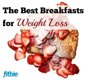 These healthy, low-calorie breakfasts will fill you up while helping you slim down.   Fitbie.com