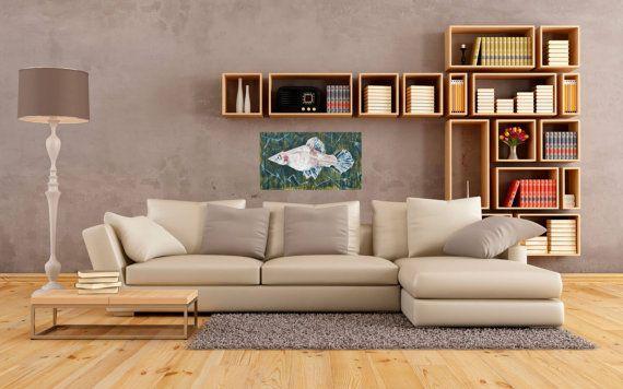 Художественная роспись оригинальный современный картина на ArtKarinaStudio