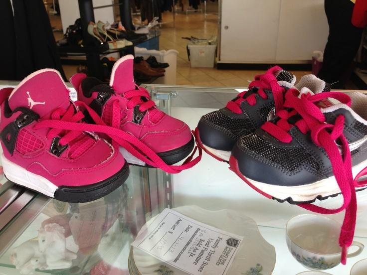 Too Cute Baby girl Nike Air & Nike Jordan tennis shoes