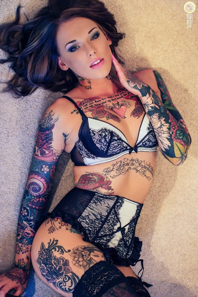 Inked girls nackt