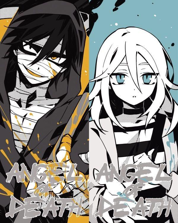 君が笑うまで Angels of Death Fanart Ray and Zack