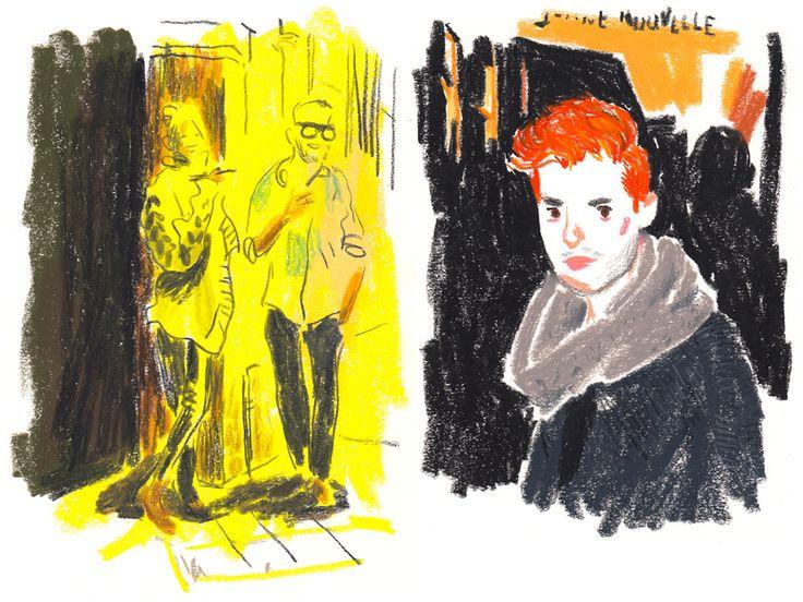 Damien Florébert Cuypers <3 Paris Fashion for T Magazine : damienflorebertcuypers.com