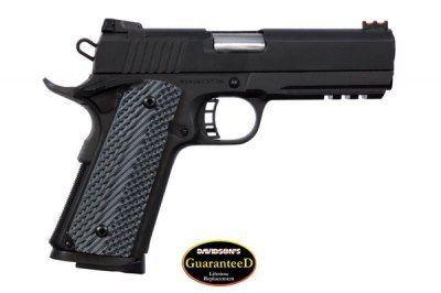 Rock Island Armory 51488 M1911 A1 MS Tactical Pistol .45 ACP 4.25in 8rd Parkerized for sale at Tombstone Tactical.