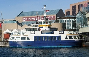 De ferry's in de internationale vaart