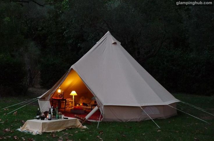 Luxury tipis in Bretagne, France #glamping #tents #europe