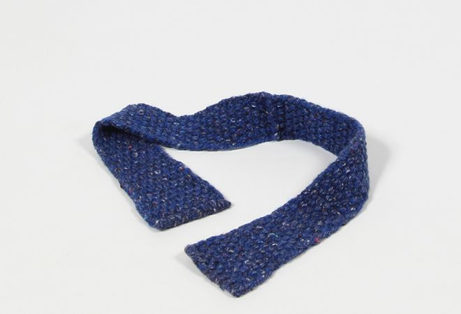 Shop | Design and Craft | Gifts | Makers&Brothers | Knitted Bow Tie | Inis Meáin Knitwear | Knitwear | Bow Tie | Men's Fashion | Men's Style | Men's Accessories | Makers & Brothers