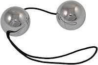 metal duotone balls - I wouldn't stop tugging on that cord!