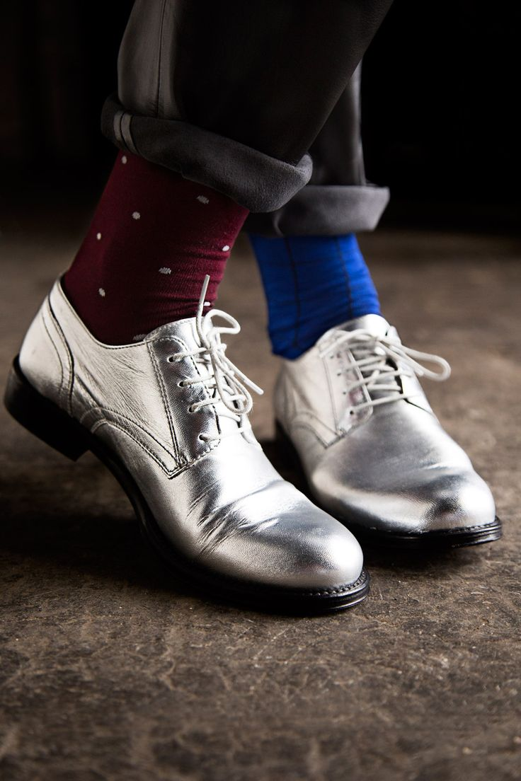 Carolyn Donnelly The Edit silver brogues
