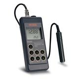 MEDIDOR PORTATIL DE CE/TDS/NaCI/`C, AUTO-RANGO, IMPERMEABLE CON COMPENSACION DE TEMPERATURA HI 9835 - HANNA Instruments, Fabricante de instrumentos de medida y análisis.